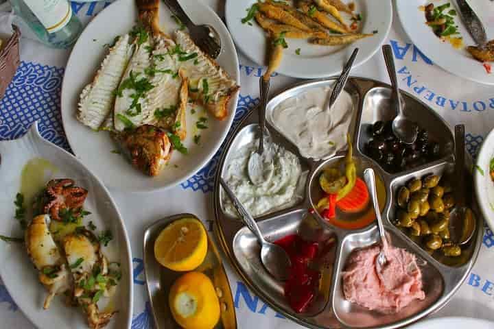 Кухня на Кипре