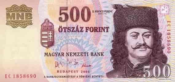 Валюта в Венгрии