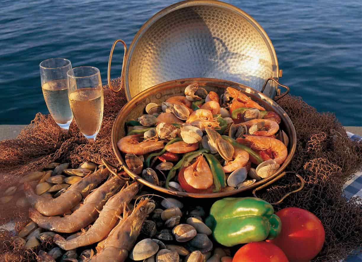 Черногорские морепродукты
